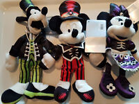Peluche / plush - Disney - Mickey dingo minnie - Halloween - neuf / new