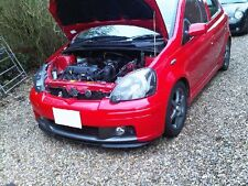 Toyota Yaris MK1 I Front Bumper Cup Chin Spoiler Lip Sport Valance Trim Splitter