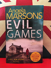Evil Games by Angela Marsons. D I Kim Stone Series Book 2 (Paperback, 2017) New