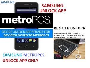 Fast Remote Unlock Service Samsung  j7 Star, j737t1  Metropcs Device Unlock App