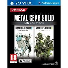 Metal Gear Solid HD Collection Game PS Vita - Brand New!