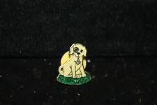 Masonic Shriners Kerbela  Enamel Pin Yellow Dog Degree