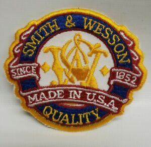 Smith & Wesson Quality Since 1852 Made In USA Patch