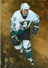98-99 BE A PLAYER BAP GOLD #155 TRAVIS GREEN MIGHTY DUCKS *33011