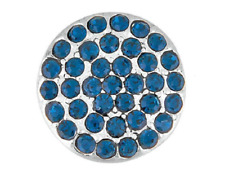 Buy 4, Get 5Th $6.95 Snap Free Ginger Snaps™ Ritzy Montana Blue Jewelry