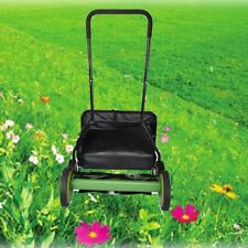 "Lawn Mower 20"" Classic High Quality Hand Push Reel W+Grass Catcher Push Mower"