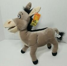 "Shrek 2 Donkey 2004 Plush 12"" DreamWorks Stuffed Animal"