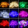 100/200/300/600 LED String Fairy Lights Indoor Outdoor Christmas Party Decor