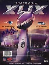 Malcolm Butler New England Patriots Signed Autographed Super Bowl XLIX Program A