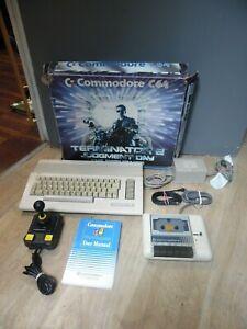 COMMODORE 64 C64 BOXED COMPUTER TERMINATOR 2