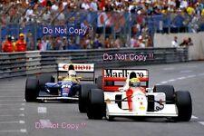 Ayrton Senna McLaren MP4/7A Winner Monaco Grand Prix 1992 Photograph 4