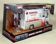 Jada 1/24 Scale - Marvel Deadpool Taco Truck Diecast model car / Van