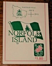 Norfolk Island :- Booklet MNH  SB7 Normal  issue (600)