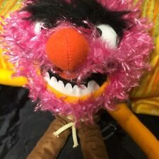 Disney The Muppets 'Animal' Plush Toy With Tags Funny With Chain