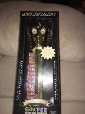 "disney star wars limited edition Giant Pez Dispenser 21"" Tall 2005"