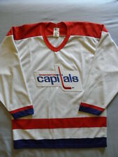 CCM Washington Capitals Vintage replica jersey sz M MED Medium Maska Caps  Blank aee38ec5838