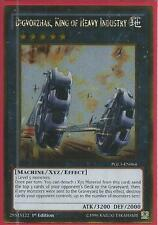 Yugioh Card - Digvorzhak, King of Heavy Industry *Gold Rare* PGL3-EN064 (NM/M)