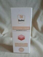 Radins Whitening Cream Licorice & Q10 Non Greasy Liposome Technology Nib
