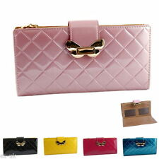 Unbranded Faux Leather Wallets for Women with Photo Holder