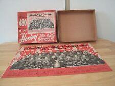"MONTREALCANADIAN CHAMPIONS 1953 TEAM JIG SAW PUZZLE 14"" X 19"" -480 PIECES"