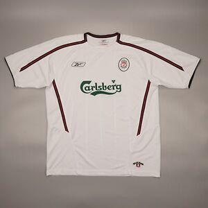 Liverpool 2003 2004 2005 Away Football Soccer Shirt Jersey Camiseta Kit Reebok