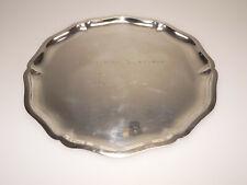 Altes Silbertablett, 835er, um 1930, guter Zustand mit Gebrauchtspuren