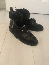 Asos Black Cut Out Ankle Boots Size 7