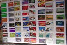 Telefonkarten Österreich   mit Album geb. 168 St.
