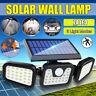 74 LED Solarleuchte mit Bewegungsmelder Solarstrahler Außenleuchte Gartenlampe