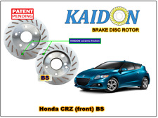 "Honda CRZ disc rotor KAIDON (front) type ""BS"" / ""RS"" spec"