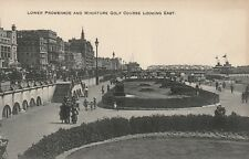 """""""Hundred Year old photo postcard from collection""""Lower Promenade looking East"""