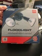 Lithonia Lighting 2-Light 300W Max Security Light Floodlight New!!!