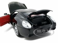 FERRARI 575 GTZ ZAGATO BLACK 1:18 DIECAST MODEL CAR BY HOTWHEELS P9888