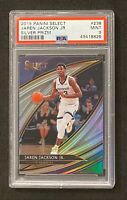 2019-20 PANINI SELECT JAREN JACKSON JR SILVER COURTSIDE PSA 9 MINT #238 GRIZZ