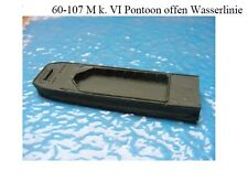 MGM 060-107 1/76 and 1/72 Resin WWII Mk. VI Open Waterline Pontoon (barge)