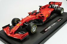 Sebastian Vettel Ferrari SF90 1/18 Bburago Modellino F1 2019