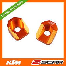 TENDEURS DE CHAINE KTM 65SX 65 SX 2009 2010 2011 2012 2013 2014 2015 ORANGE SCAR