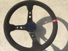 Universal Aluminum 6 Hole Steering Wheel Horn Button Delete Plate No Logo Black
