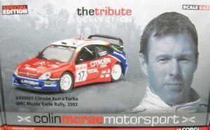 Citroen Xsara Turbo WRC No. 17 C. Mcrae Rally Monte Carlo 2003
