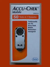 MOBILE ACCU-CHEK 50 Sensoren Teststreifen * vom FACHHAENDLER * Roche * NEU ° OVP