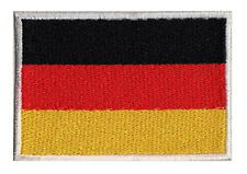 Ecusson patche à coudre drapeau patch allemand ALLEMAGNE 70 x 45 mm