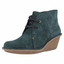 Clarks Mid Heel (1.5-3 in.) Lace Up Boots for Women