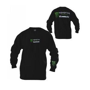Monster Energy Kawasaki Crew Neck  Sweatshirt