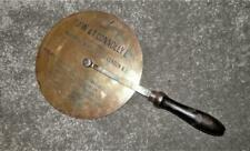 Antique 'J.W & T.Connolly Ltd'  Brass Advertising Traveller Wheel Measure