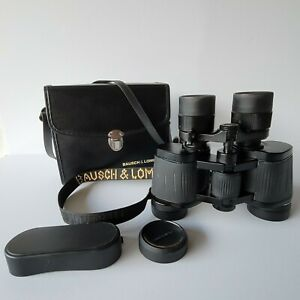 VINTAGE BAUSCH & LOMB LEGACY ZOOM 7-15X35 BINOCULARS WITH STRAP/CASE