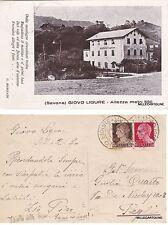 # GIOVO LIGURE: ALBERGO ZANINI   1930