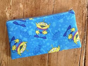 Handmade Toy Story Aliens Pencil Case Make Up Bag Storage Pouch