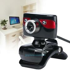 360° 12MP Webcam Network Camera with Built-in Mic Night Vision for PC Desktop