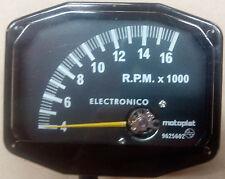 Compte-tours Motoplat 16000 RPM 2 temps drehzahlmesser Krober style tacómetro