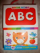 Tiny Tots Flash Cards - ABC Flash Cards - 40 Learning Cards Brand New RRP £5.99